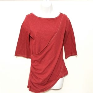 Lur fashion for change maroon wrap small